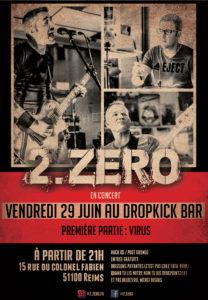 2.ZERO en concert au Dropkick Bar