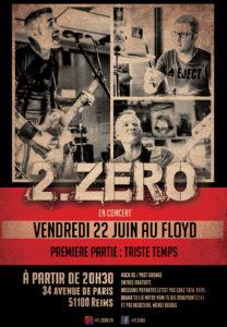 2.ZERO en live au Floyd